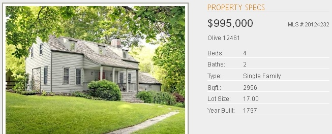 Old Stone Homes For Sale Ulster County NY - With Character, Rare and ...